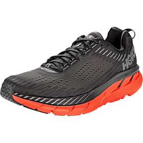 Hoka One One Clifton 5 Running Shoes Herren dark shadow/spicy orange
